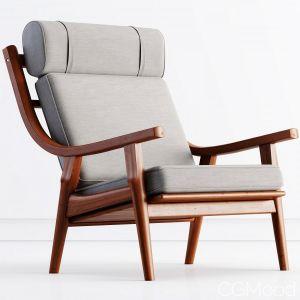 Getama Easy Chair By Hans J Wegner
