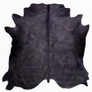 Gray Violet Cowhide Rug