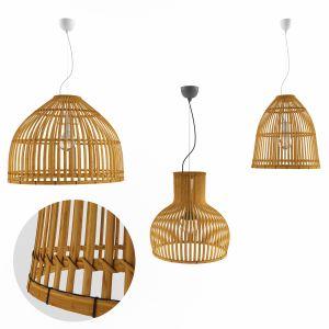 Lamp Rattan 5 B