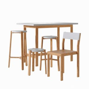 Happy Bar Table Stool Chair - A2 Designers