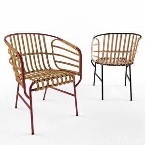 Chair Raphia By Casamania & Horm