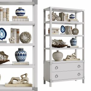 Horchow Reyes Etagere