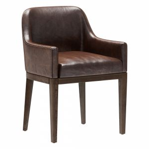 Restoration Hardware Morgan Curved-back Armchair