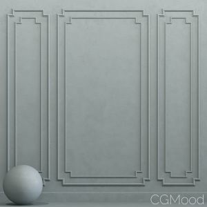 Decorative Plaster With Molding 22
