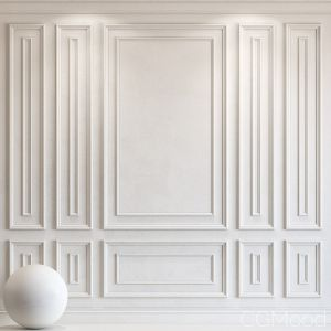 Decorative Plaster With Molding 24