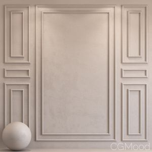 Decorative Plaster With Molding 25