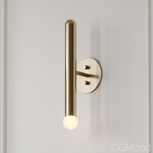 Miro 1 Brass Wall Sconce