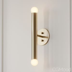 Miro 2 - Brass Vanity Wall Sconce