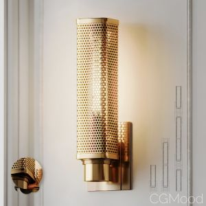 Oxon Hill 1-light Armed Wall Sconce By Brayden Stu