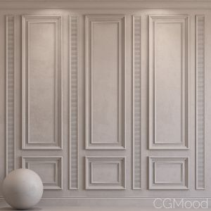 Decorative Plaster With Molding 28