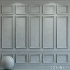 Decorative Plaster With Molding 29
