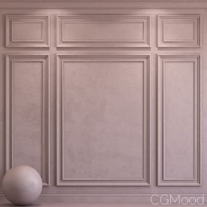 Decorative Plaster With Molding 30