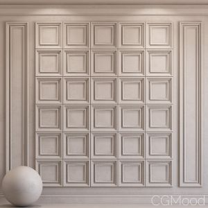 Decorative Plaster With Molding 31