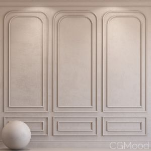 Decorative Plaster With Molding 33