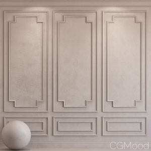 Decorative Plaster With Molding 34