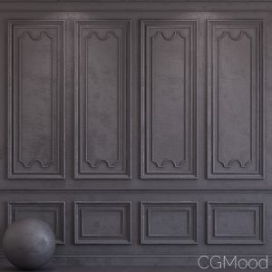 Decorative Plaster With Molding 35