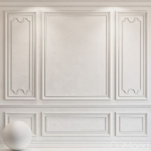 Decorative Plaster With Molding 36