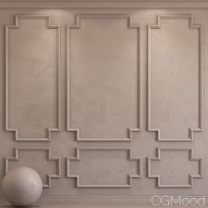 Decorative Plaster With Molding 37