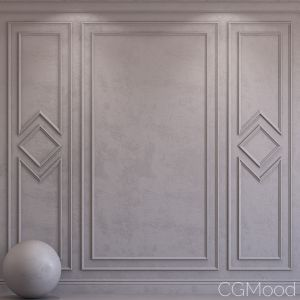 Decorative Plaster With Molding 40