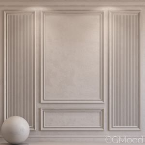 Decorative Plaster With Molding 42