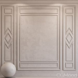 Decorative Plaster With Molding 44