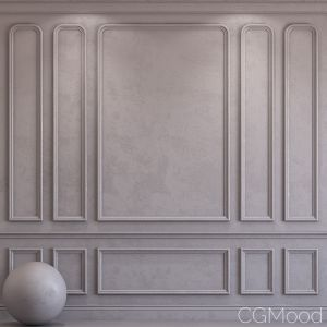 Decorative Plaster With Molding 43