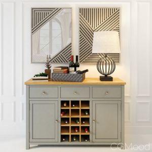 Wine Cabinet Jules Verne