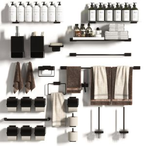 Bathroom Accessories Collection 01