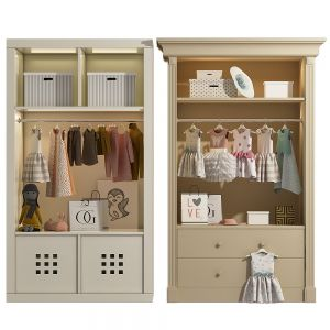 Wardrobe With Decor  Set 04