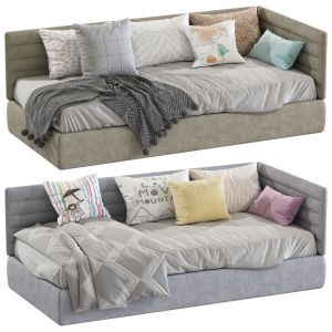 Contemporary Style Sofa Bed 4 Set 160