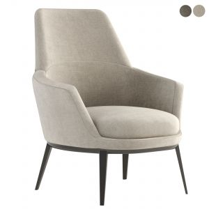 Caratos Maxalto Armchair With High Backrest