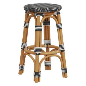 Restoration Hardware St Germain Resin Stool