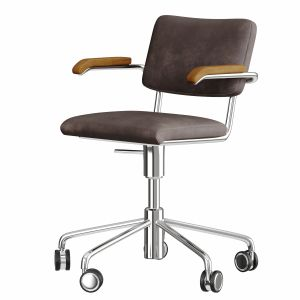 Thonet S 64 PVDR office chair