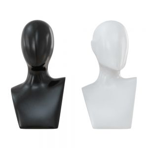 Female Black And White Bust 105