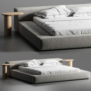 Extrasoft Bed Living Divani