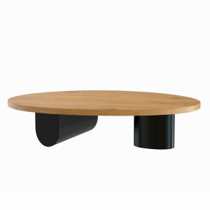 Isla Egg Oval Coffee Table