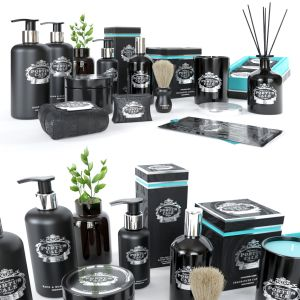 Portus Cale Bathroom Accessories Black Edition