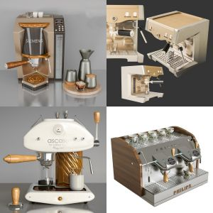 Coffee machine pack vol1