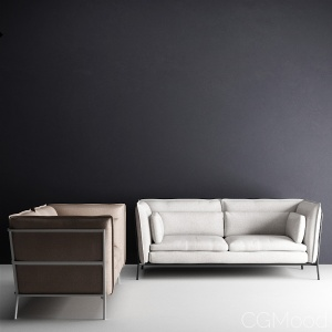 Cappellini - Basket sofa and armchair
