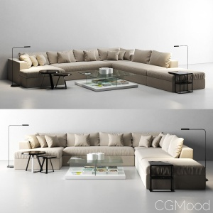 Meridiani Louis Sofa