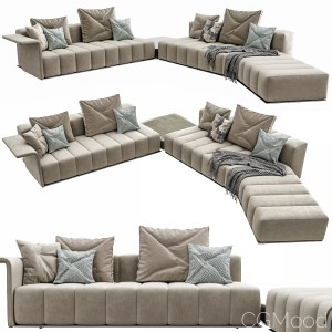 Minotti Freeman Lounge Arrangement 04