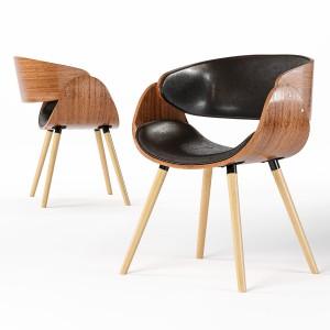 Corvus Mid-century Modern Accent Chair