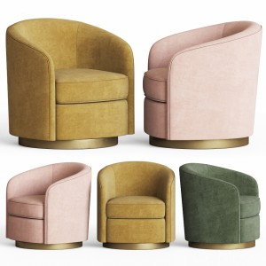 Swivel Armchair Notremonde