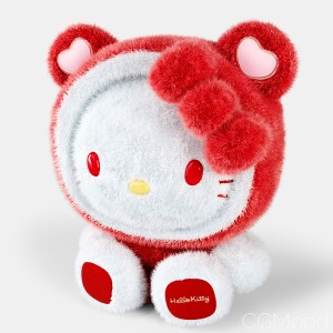 Stuffed Toy Kitty