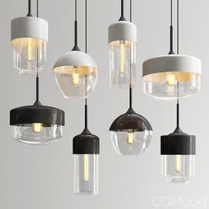 Amber Pendant Lights
