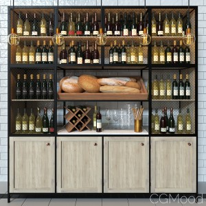 Wine Bar Decorating Set