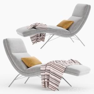 Roche Bobois Calibri Lounge Chair