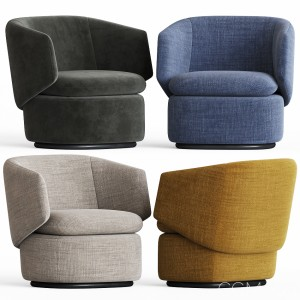 Crescent Swivel Chair Westelm