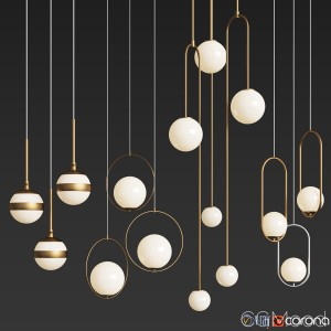 Ceiling Light Collection 2 - 4 Type