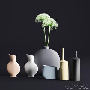 Decorative vases by Kosemilano